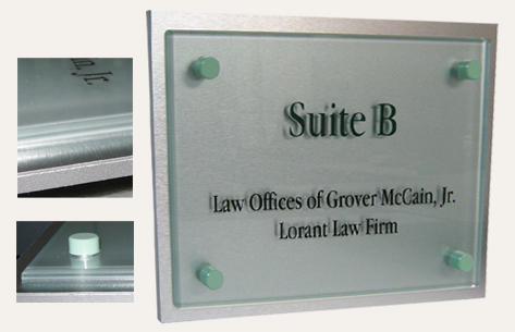 custom interior ADA signage