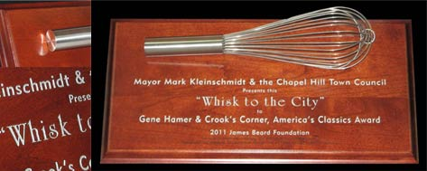 Custom Plaque, Mounted Whisk
