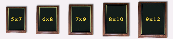 Solid Wood Plaques