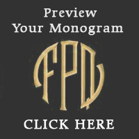 Preview Your Monogram for Embroidery Click Here